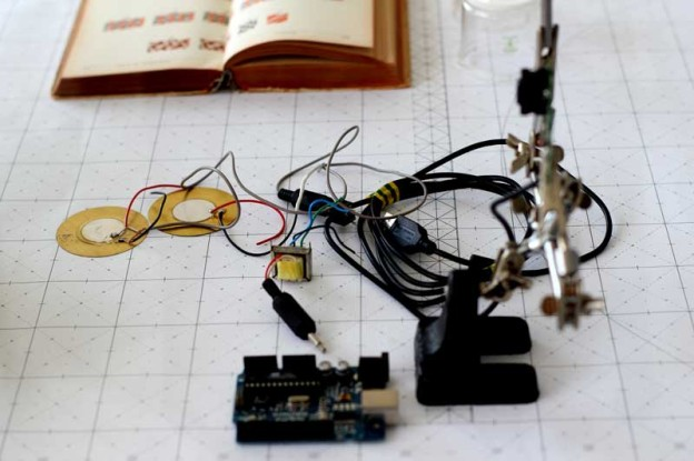 arduino and contact microphones