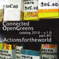 CONNECTED OPENGREENS PUBLICATION part #1, 2, 3, 4
