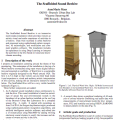 The Scaffolded Sound Beehive - paper