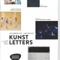 Kunstletters - article